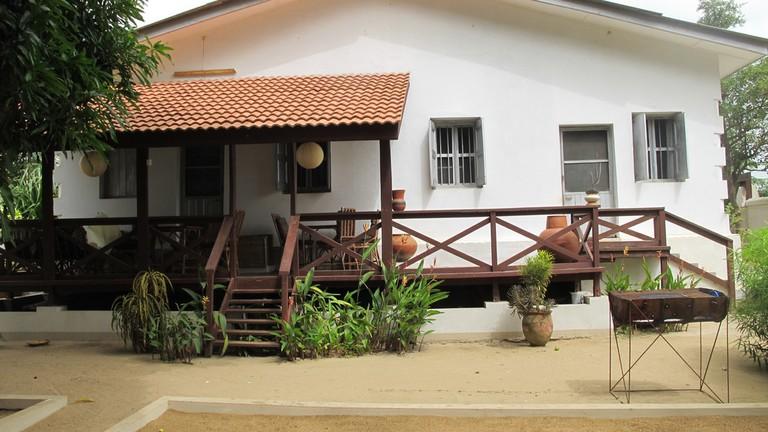Back porch of Ezime