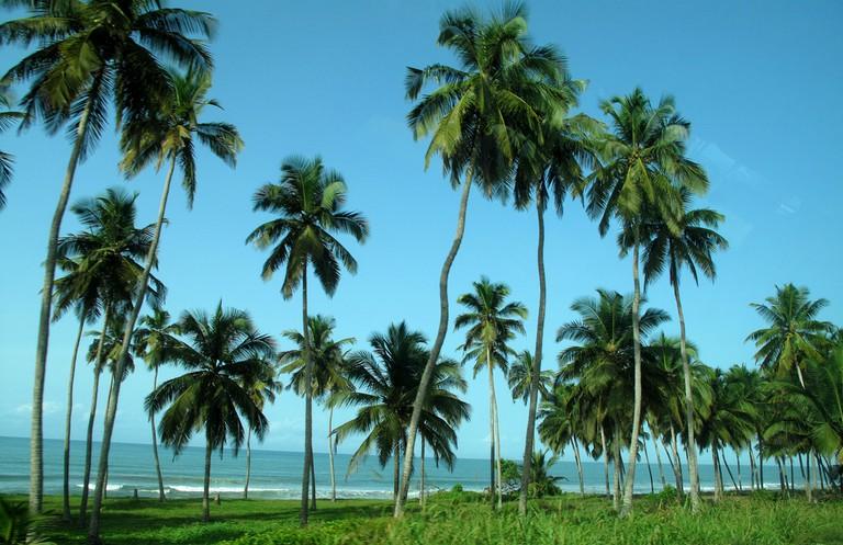 Cape coast, Gulf of Guinea