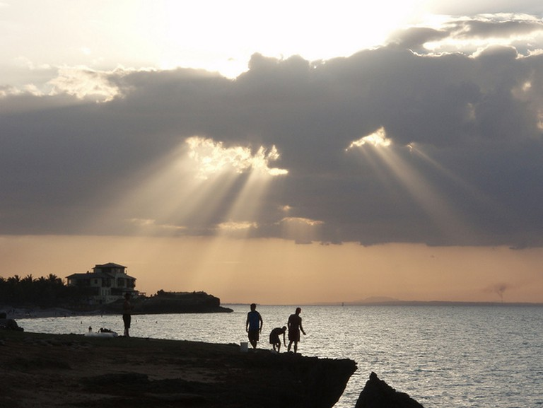 Sunset over the Malecon
