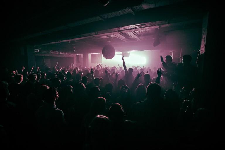 Phonox has a large dance floor