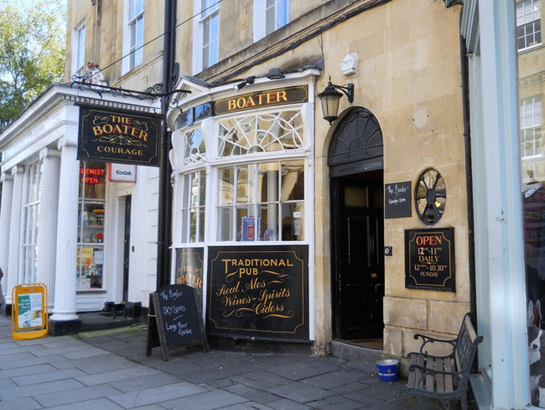 The Boater, Bath