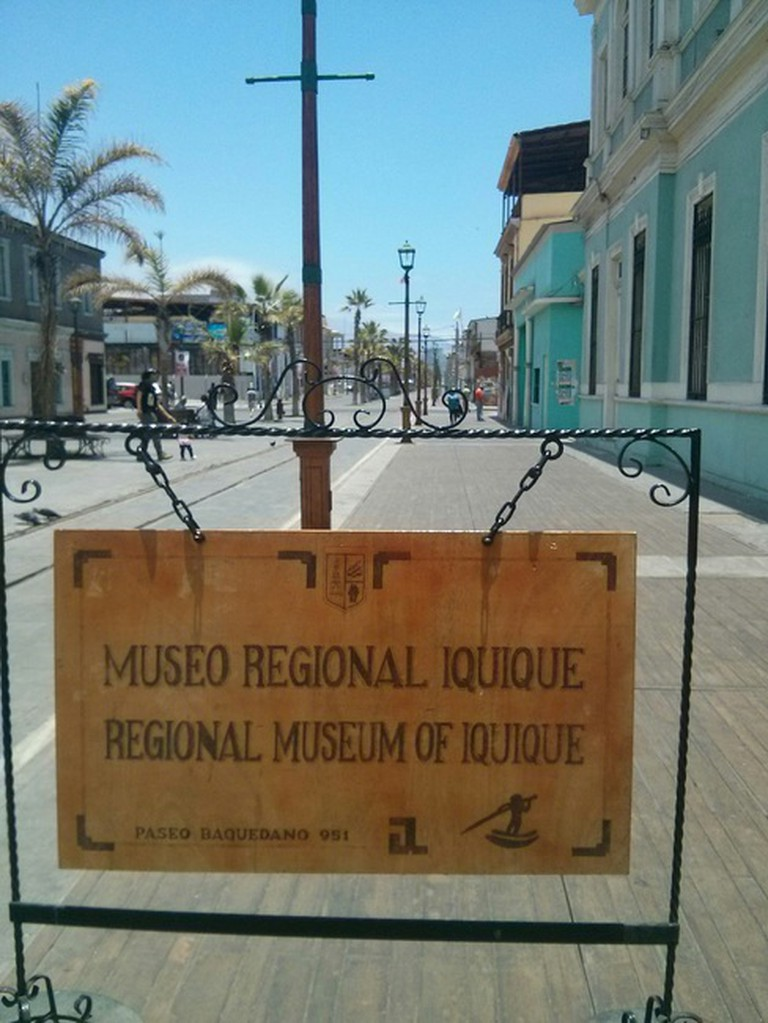 Entrance to Regional Museum of Iquique