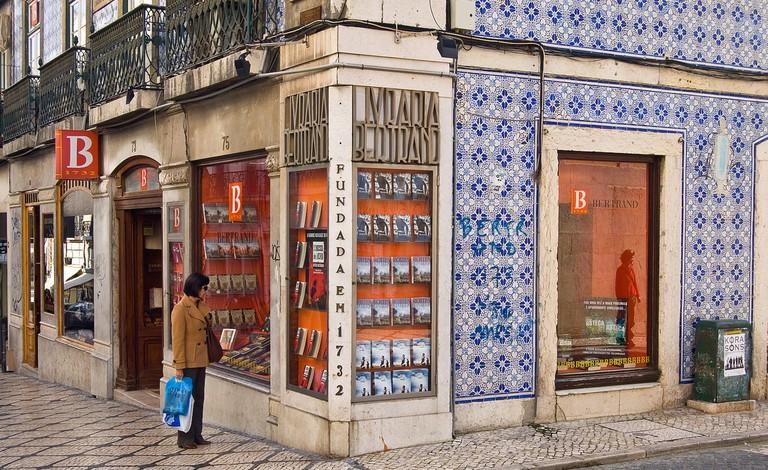 The Bertrand Bookstore in Lisbon