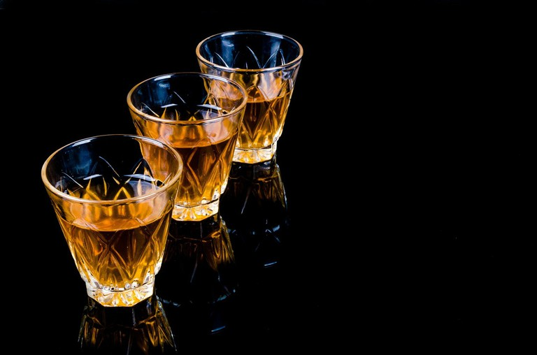 Get the night started with a few shots