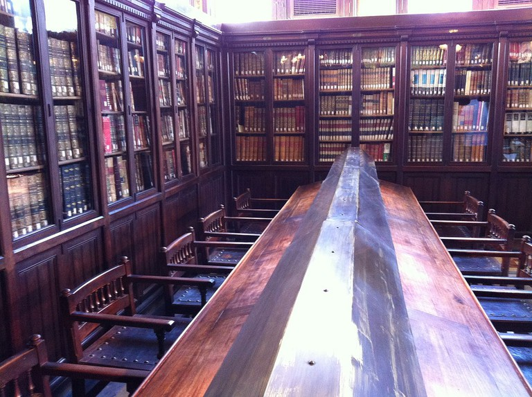The reading room of the Arùs public library