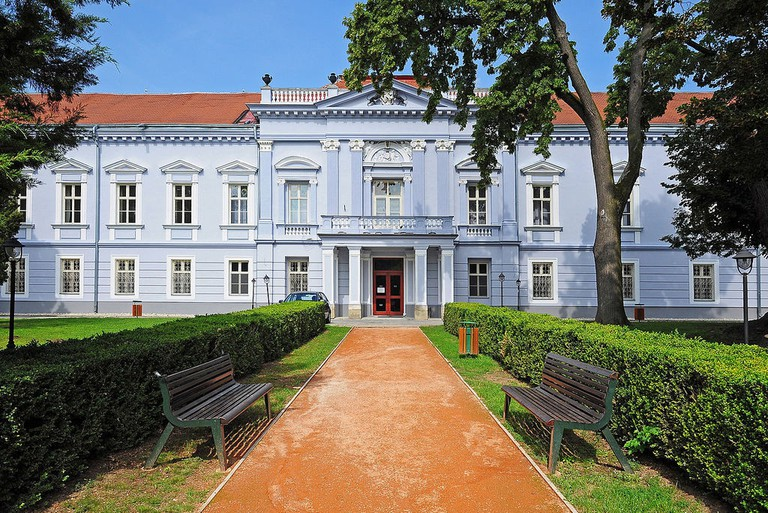 The manor-house Mojmirovce offers tranquility about an hour away from Bratislava