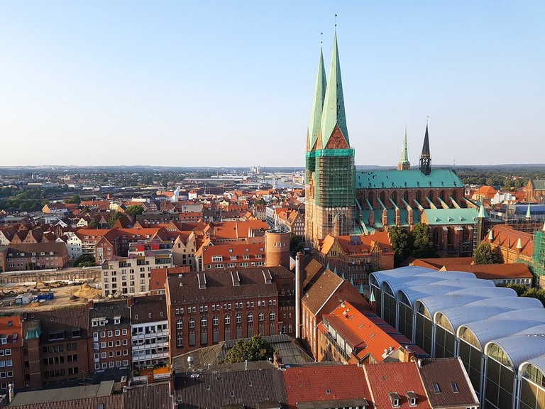 View from the St Petri tower