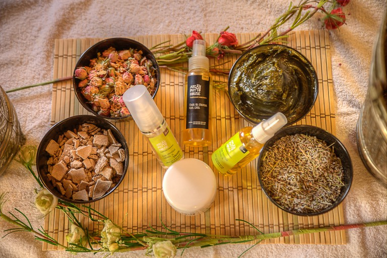 Natural products at Argan Phyto House