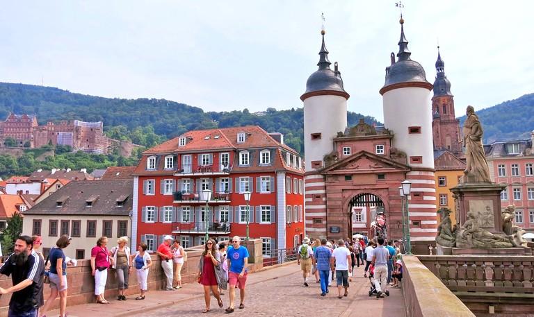 Heidelberg's Old Bridge