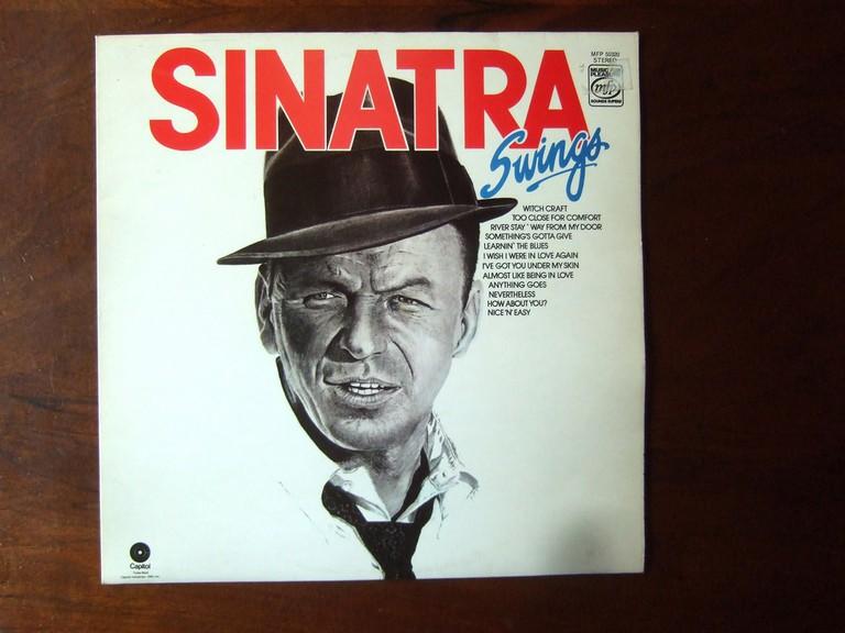 A Frank Sinatra LP Record