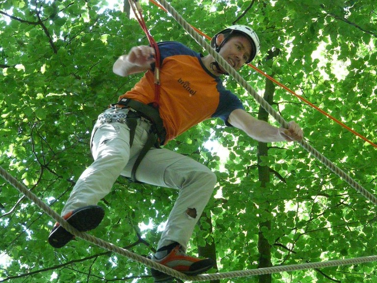 Try the ropes courses