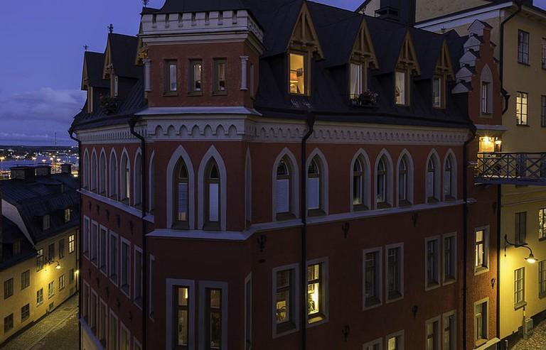 Blomkvist's apartment building