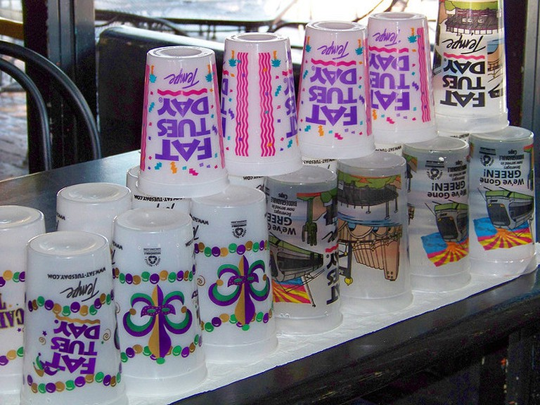 Fat Tuesday's cups