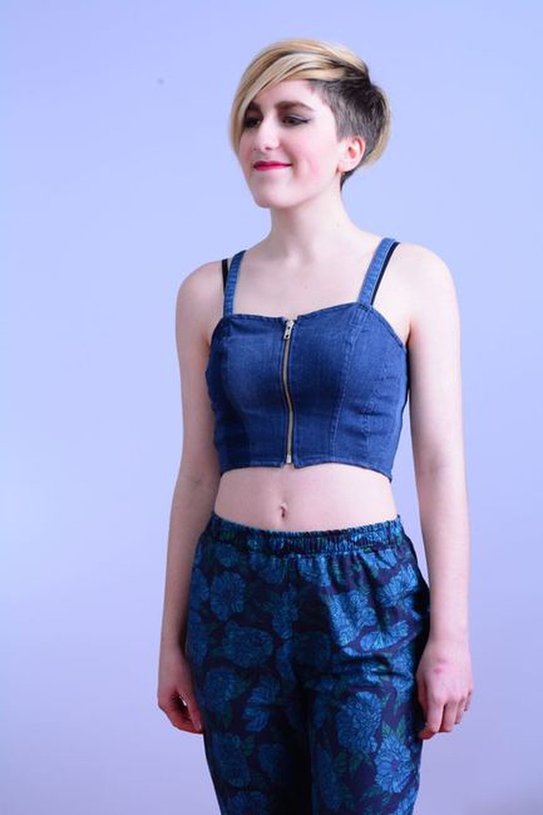 Trousers made at a Little Hands Design sewing class