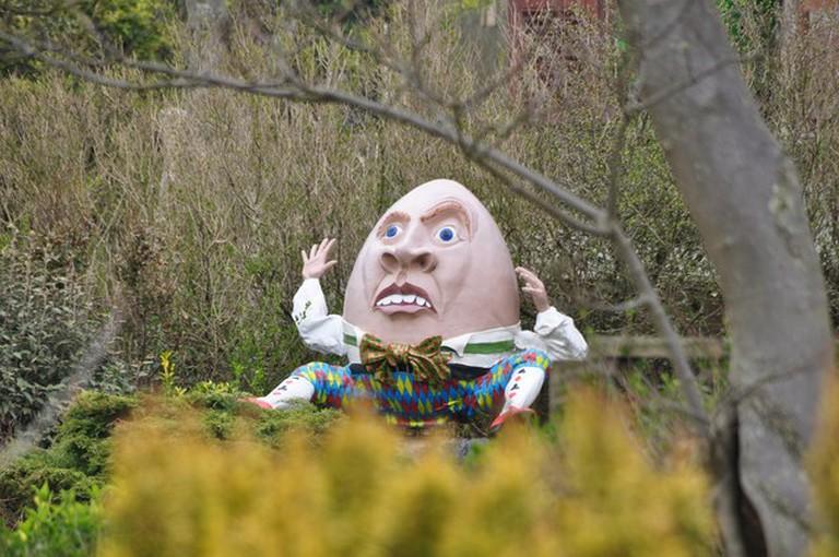 Humpty Dumpty at Blackgang Chine, Isle of Wight
