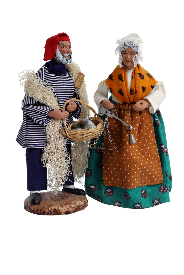 Santons are very common in Provençale homes