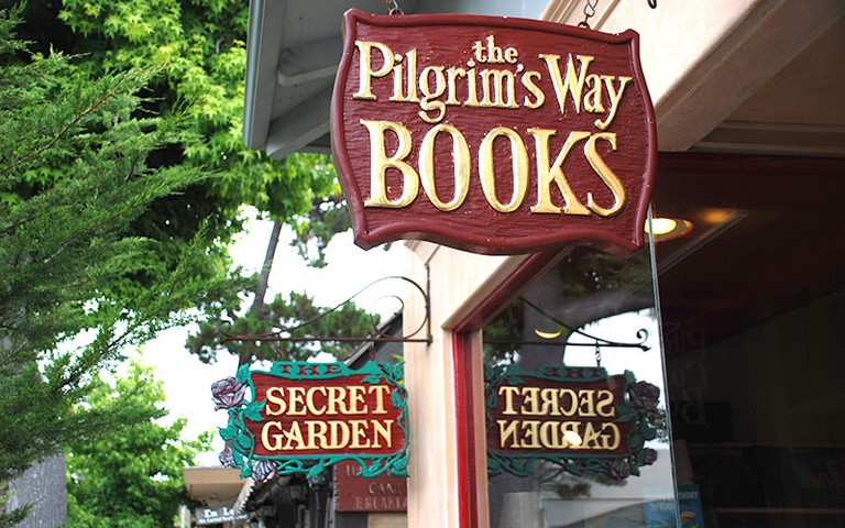 Pilgrims Way Community Bookstore and Secret Garden, Carmel-by-the-Sea