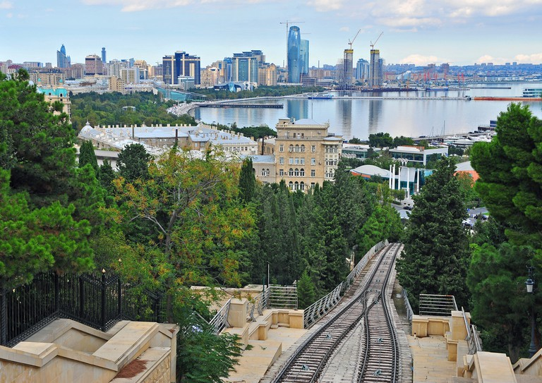 Head up the funicular, and enjoy the views from Dagustu Park