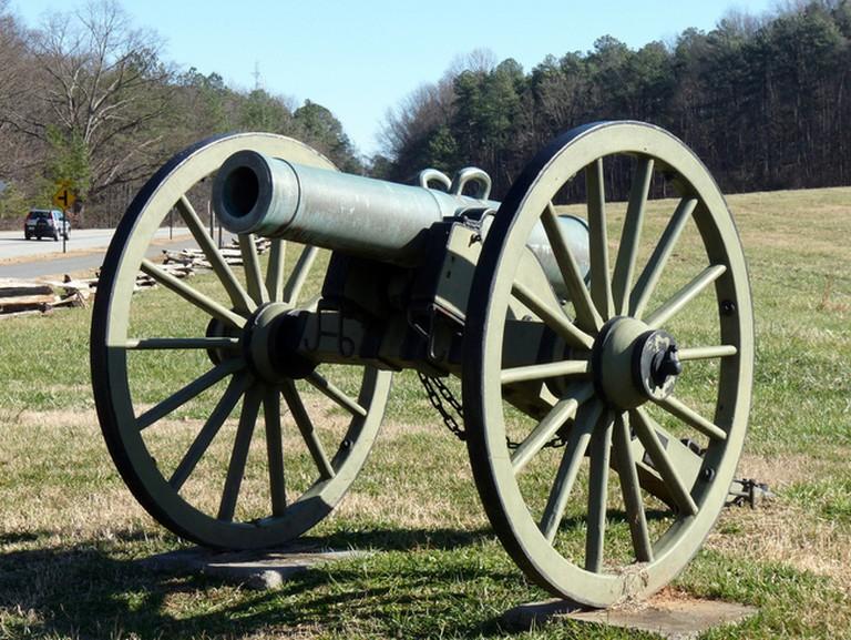 Cannon in Kennesaw Battlefield Park