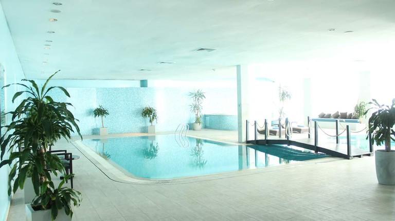 Indoor pool at O Spa by Kenzi