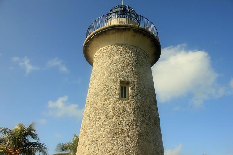 Lighthouse at Biscayne National Park