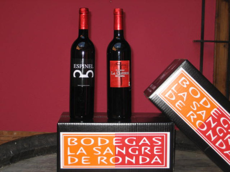 Ronda is famous for its red wine