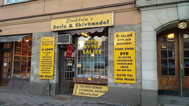 Stockholms Serie & Skivhandel, Stockholm