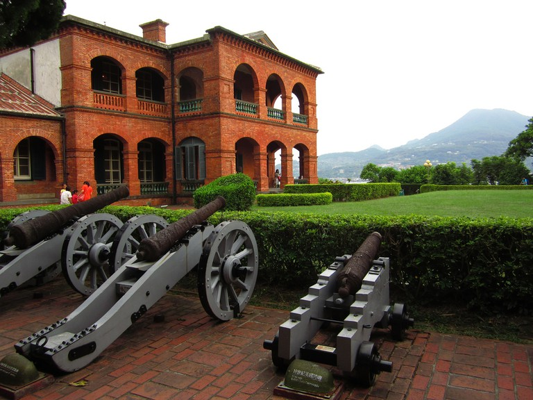The old guns at Fort San Domingo