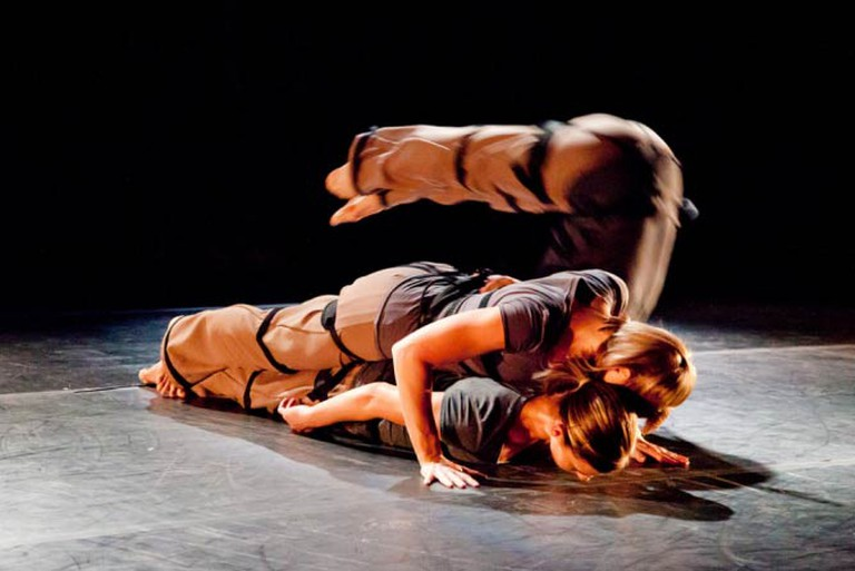 Amy Ell's dance company Vault at DiverseWorks