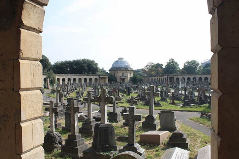 Central section, Brompton Cemetery