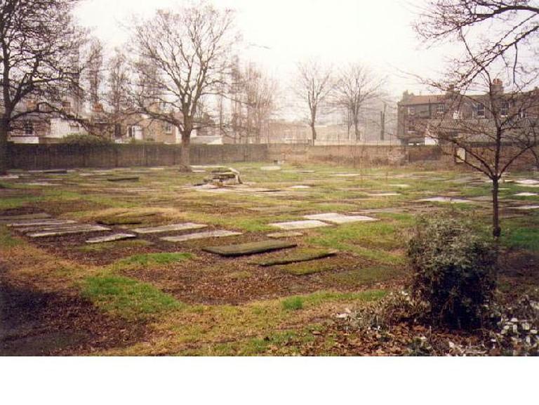 Tthe Velho Old Sephardi Cemetery at Mile End