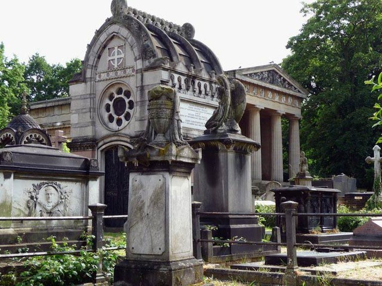 Various mausoleums, Greek Orthodox Cemetery, West Norwood Cemetery