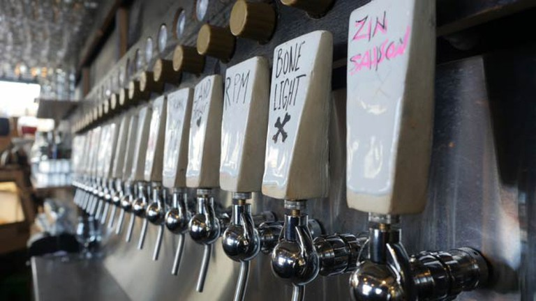 The Haul's beer lines