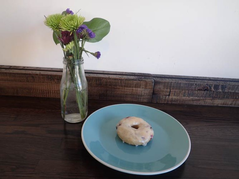 Blueberry Lemon Donut   Lauren Ferrier