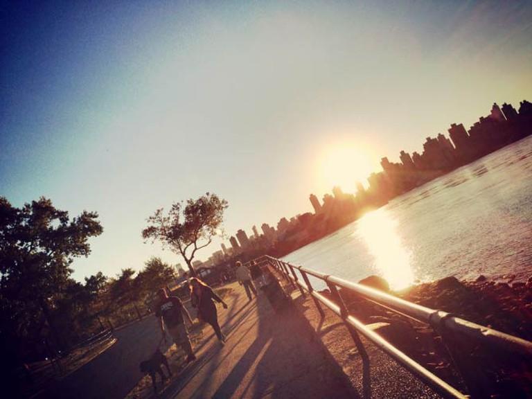Astoria Park Sunset