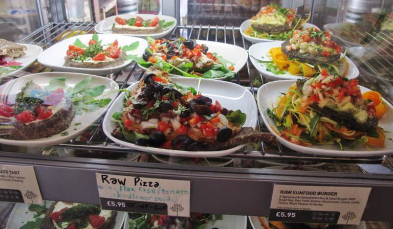 inSpiral's Raw Food Display