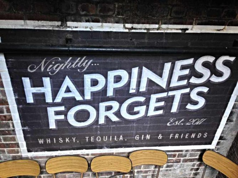Happiness Forgets, London