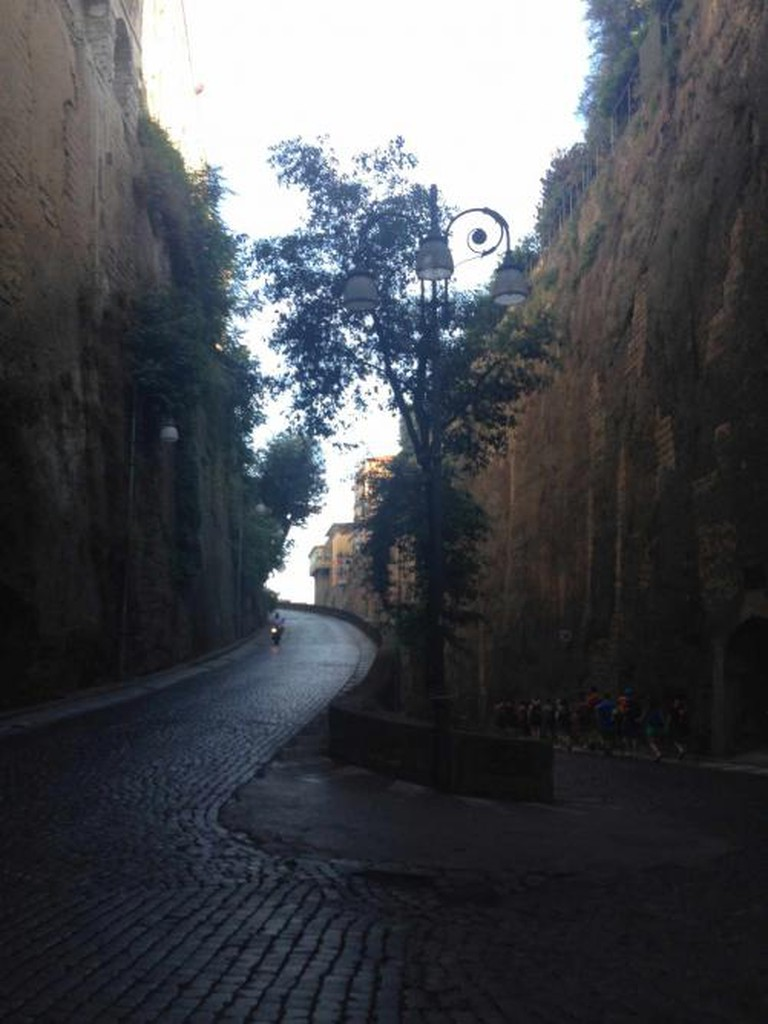 Road leading to Port in Sorrento
