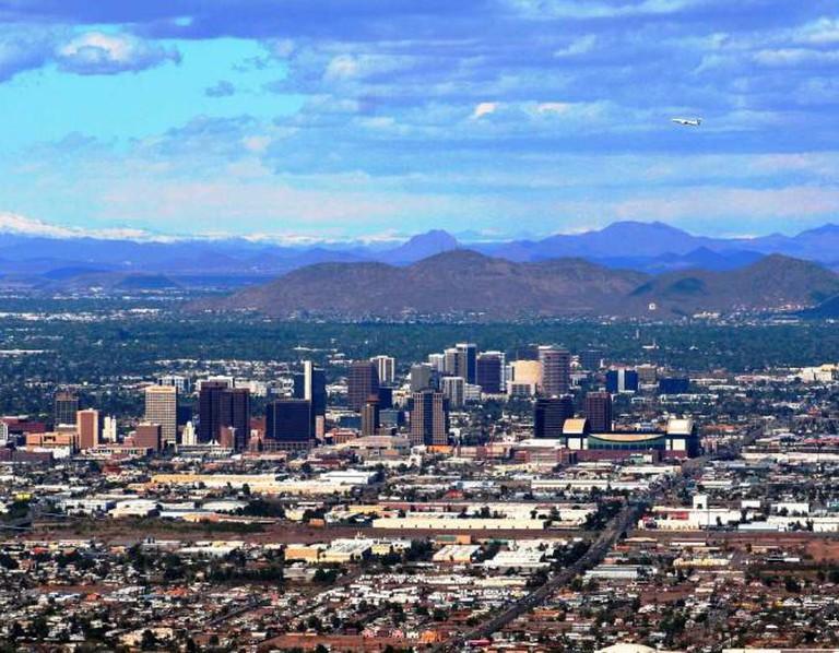 Gilbert is a suburb of Phoenix