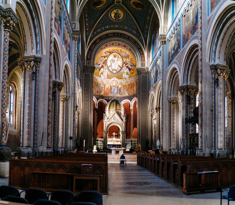Inside St Cyril and Methodius Cathedral, Prague