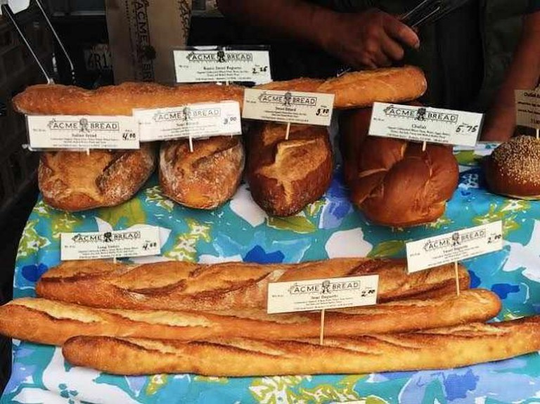 Acme Bread at the Ferry Plaza Farmers Market