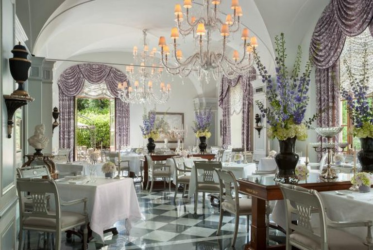 Il Palagio dining room