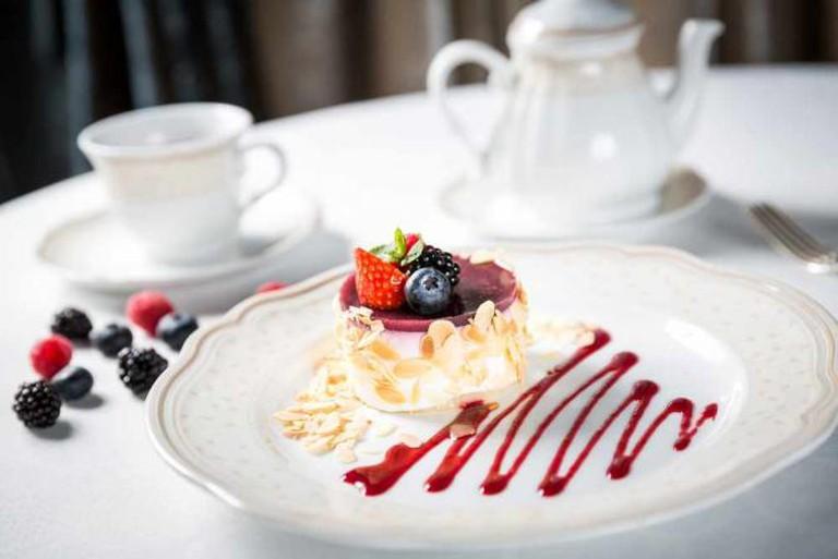 Dessert at the Russian Seasons