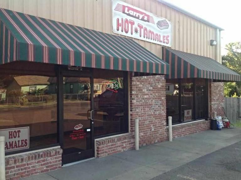 Larry's Hot Tamales Exterior