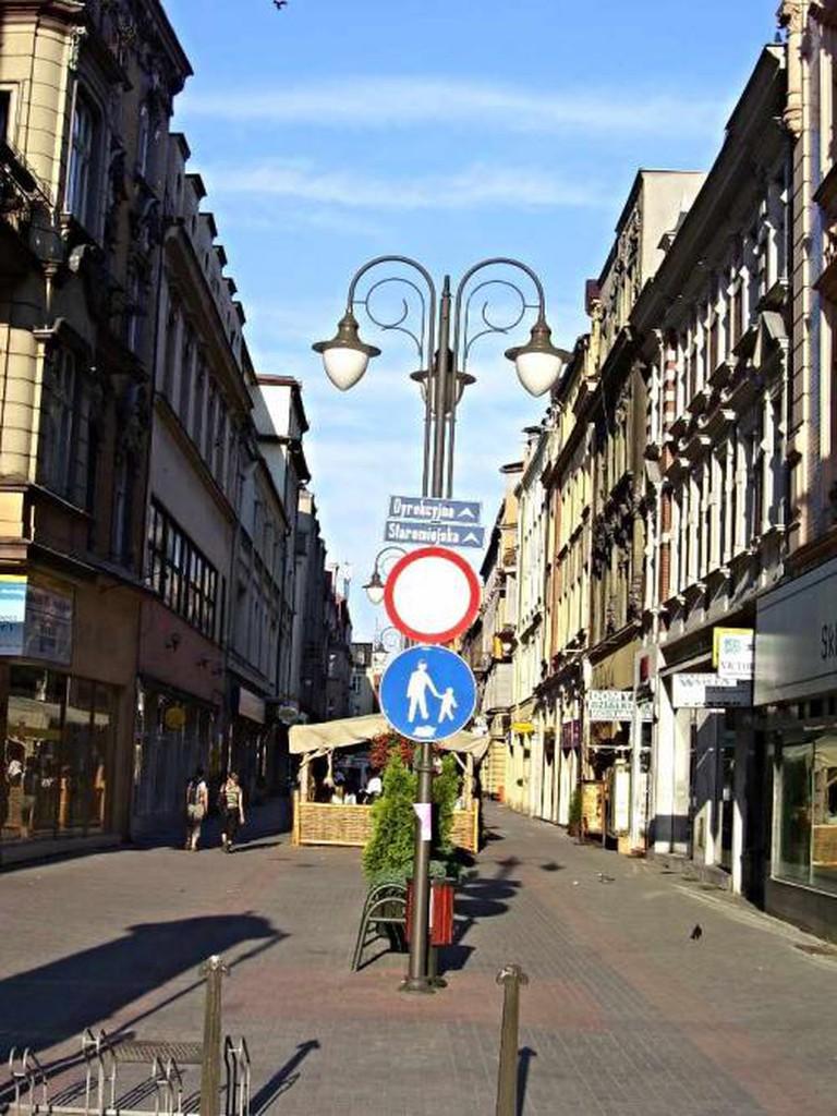 Katowice, Staromiejska Street