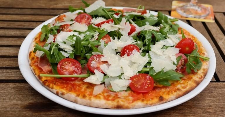Freshly Baked Pizza