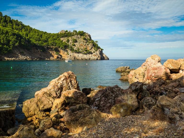 Mallorca Port of Cala Tuent