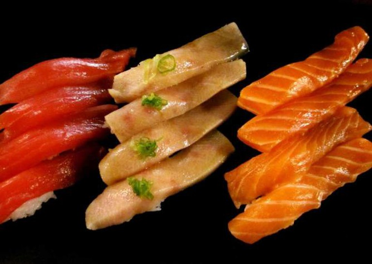 Japanese cookery prioritizes high quality ingredients