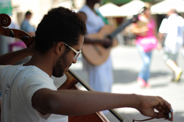 Street Musicians, Majorca