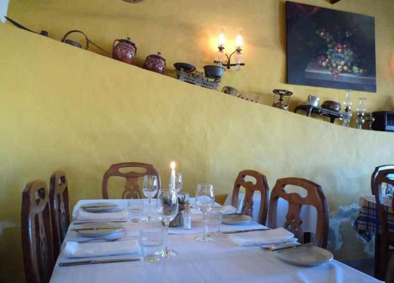 The Eira do Mel restaurant